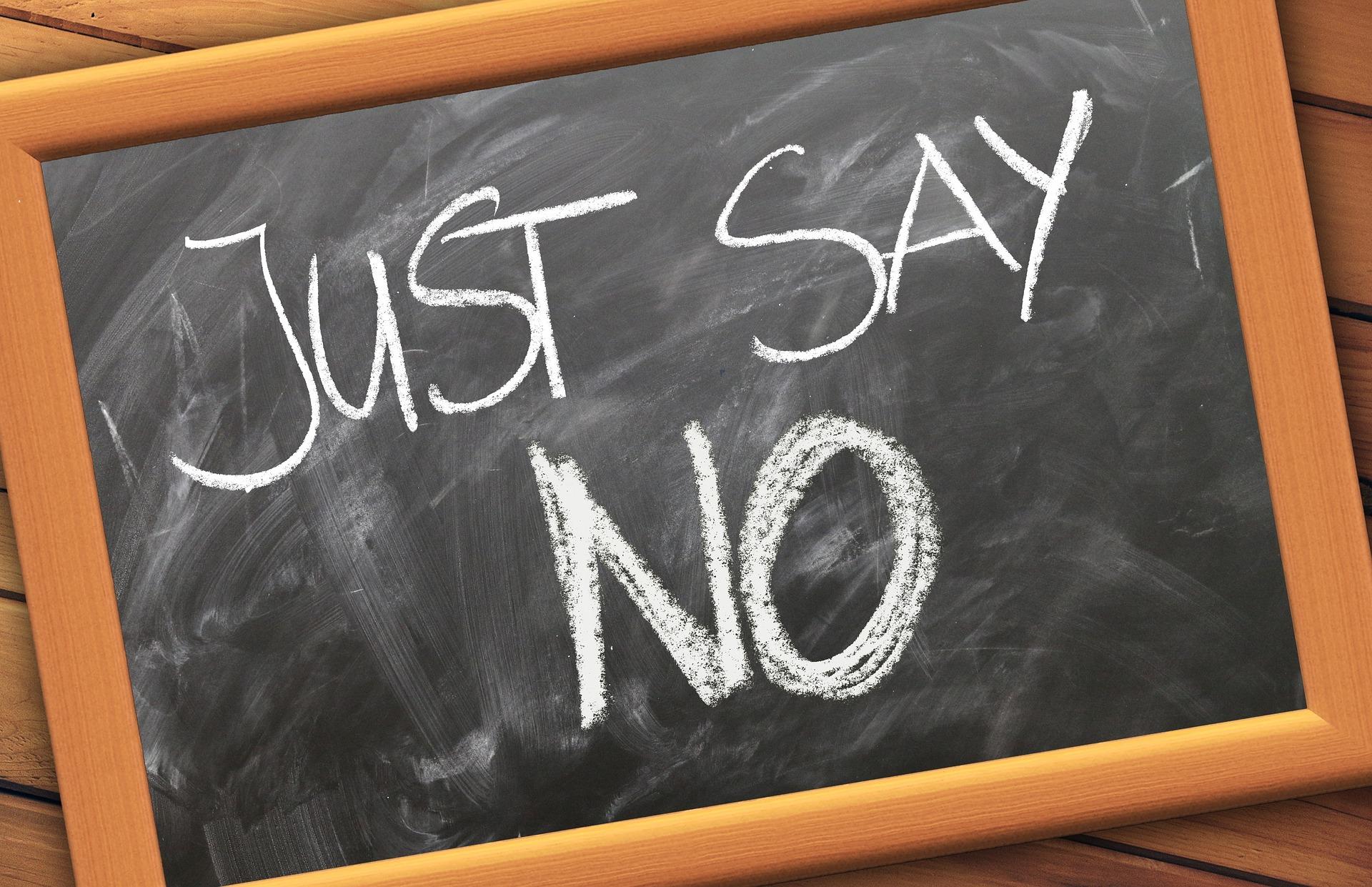 Comment apprendre à dire «non»?