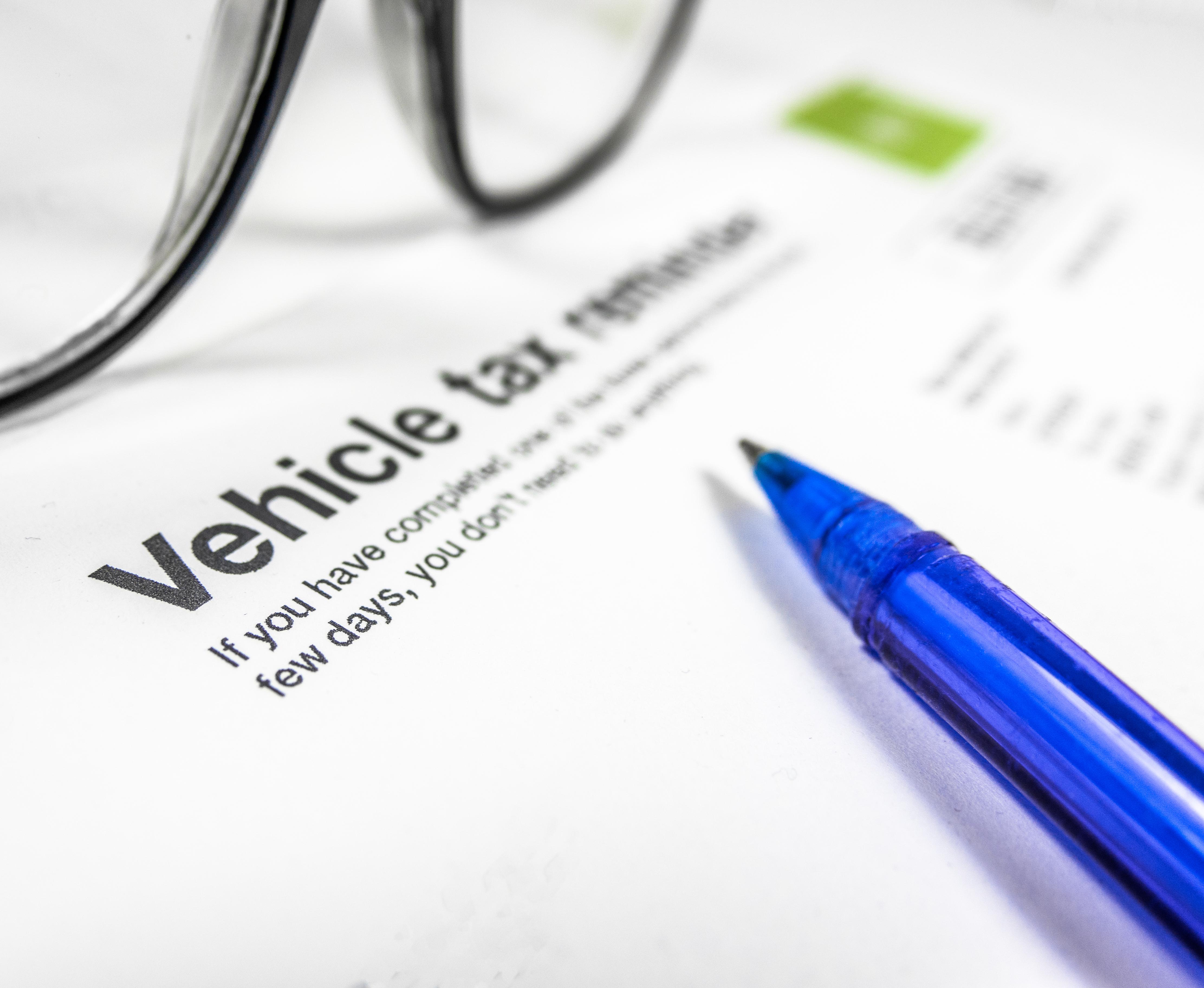 La taxe sur les véhicules de sociétés
